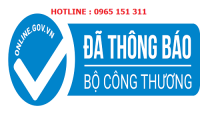 Website thực hiện thông báo đăng ký kinh doanh đến Bộ Công Thương