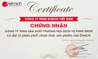 Chứng nhận đại lý phân phối chính thức sản phẩm của Elmich