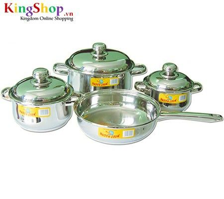 Bộ nồi Hollow Happy Cook HC07CHL