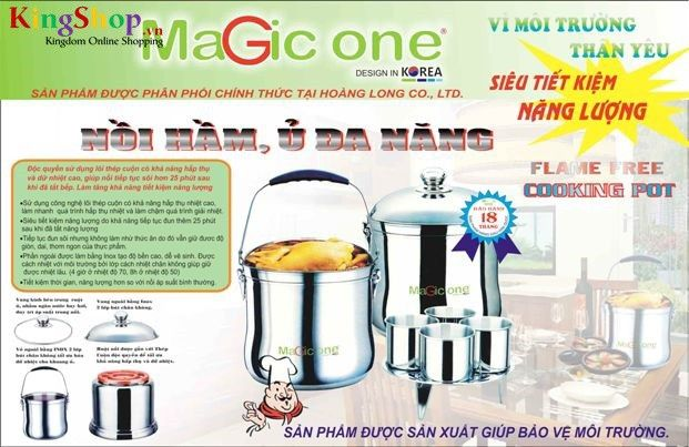 Nồi ủ Magic One MG-72 - Dung tích 7L