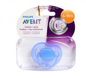 Ty ngậm cao su silicon Philips Avent SCF178/14