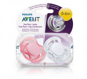 Ty ngậm cao su silicon Philips Avent SCF178/23