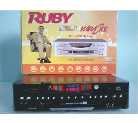 Đầu MIDI Karaoke 5 số Ruby MD 3600 II - Equalizer Digital 5.1