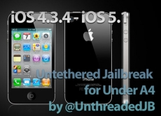 Unthreadera1n - Jailbreak Untethered cho iOS 4.3.4, 4.3.5, 5.0, 5.1 như Iphone 4, iPod touch 4G